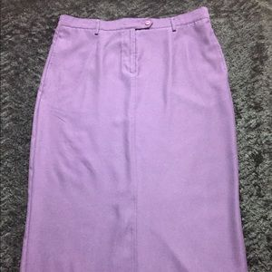 CHRISTOPHER&BANKS Purple Skirt